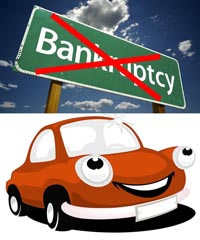 I don't want to file bankruptcy on my car!
